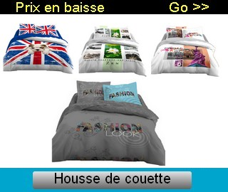 housse de couette londres ik a toile ciree rectangulaire. Black Bedroom Furniture Sets. Home Design Ideas